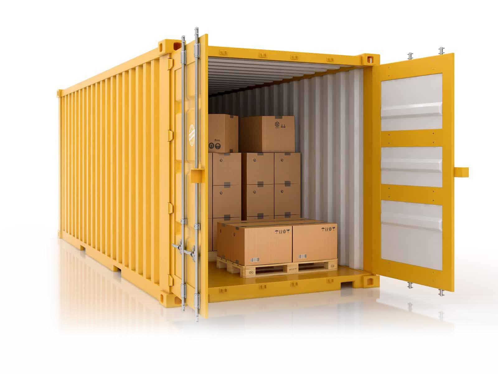 склад контейнер